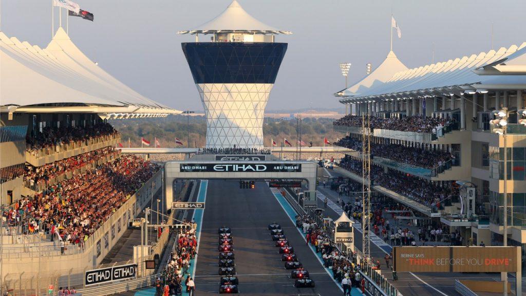 Il gran premio di F1 si concluderà ad Abu Dhabi dal 29 novembre al 1° dicembre
