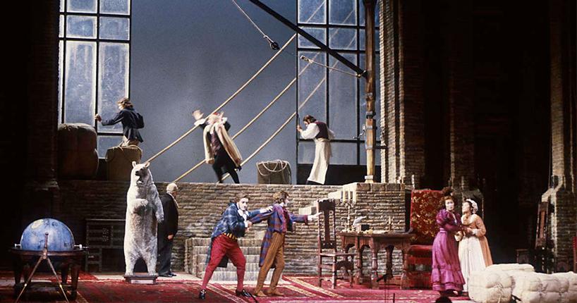 La Cambiale di Matrimonio al Teatro la Fenice di Venezia
